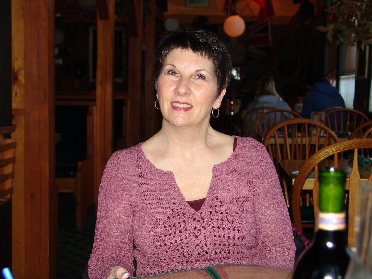 My mom at Uhler's birthday supper.