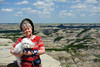 2010 Carol and Bradley in the ND Badlands