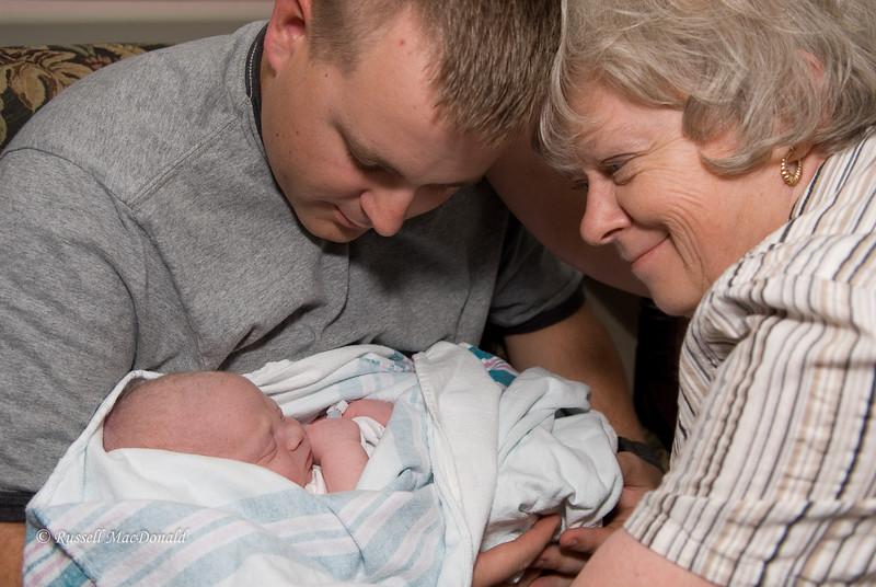 May 6, 2008 Logan, Carol, and Will