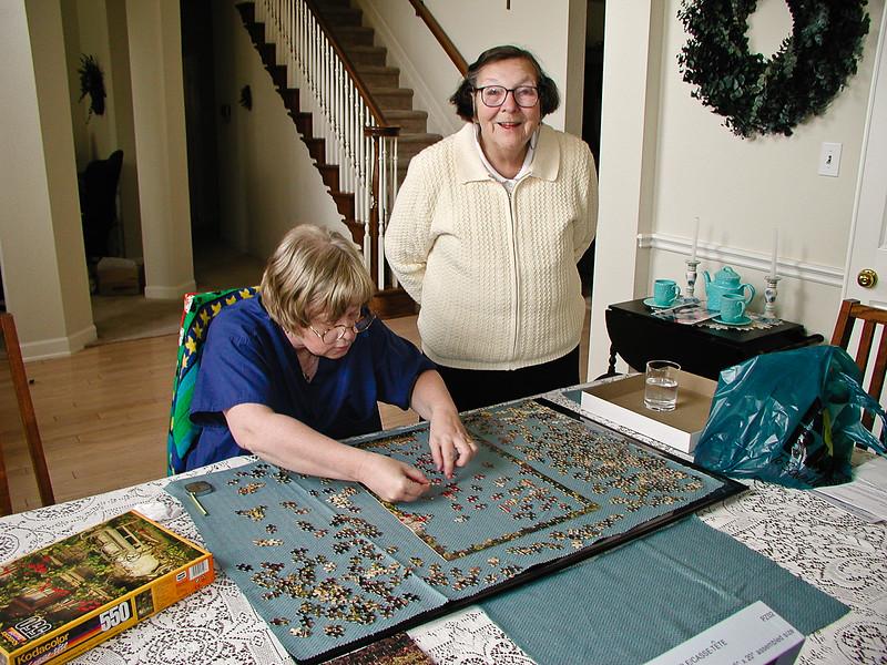 12/30/2000, Carol and Elizabeth in Plano, TX