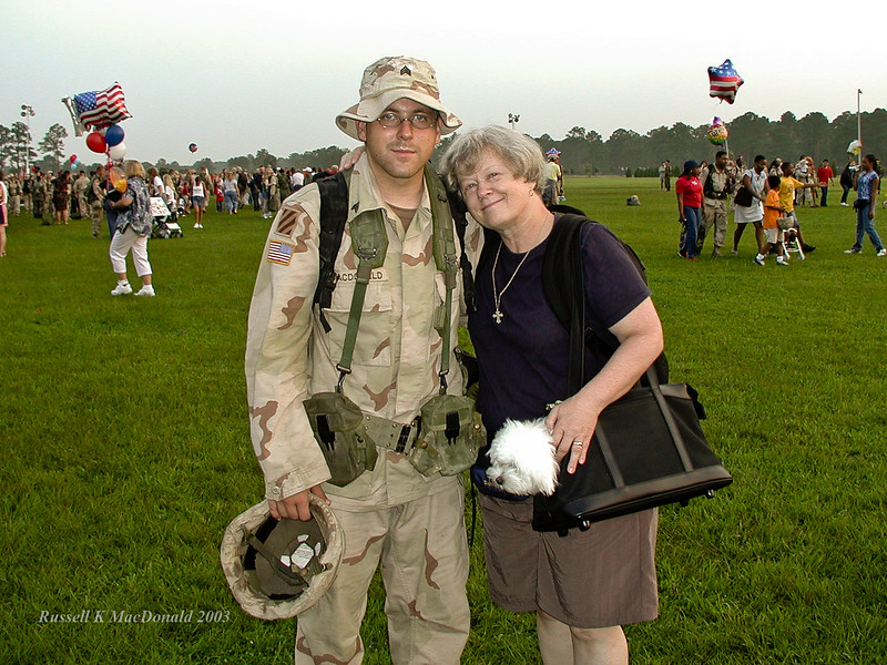 Logan home Iraq Invasion