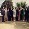 1967-12-30, Russell and Carol's Wedding in El Paso, TX; Dad (Leslie MacDonald), Mom (Elizabeth MacDonald), Bob, John, Carol, Russ, Katherine Kadrmas, Alfred Kadrmas, Sherry, Glen