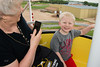 2013 Carol and Will on the Ferris Wheel at the fair in ND