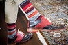 It was such a special occasion that Chris  chose to wear his fancy shoes and socks bought at Cole Haan on Fifth Avenue, New York