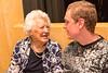 Good mates - Joyce with Caroline's cousin Ben