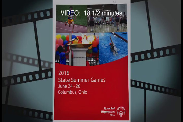 VIDEO:  18 1/2 minutes - 2016 State Summer Games - Rollerskating, Columbus, OH.  Click on image above and then on triangle and video will play.