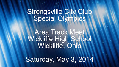 Video:  Area Track Meet 5-3-14