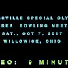 Strongsville Special Olympics Area Bowling at Freeway Lanes, Willowick, OH., Sat., Oct. 7, 2017