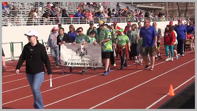 VIDEO:  Strongsville Special Olympians marching