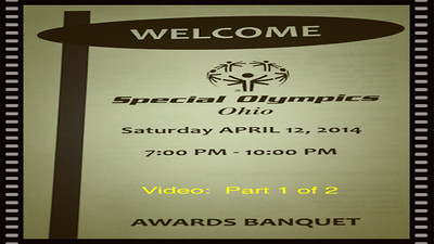 VIDEO:  Trinity Banquet 2014 - Part 1