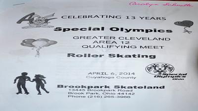 Video:  Area Meet held Sun., April 6, 2014 at Skateland, Brookpark, OH