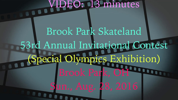 Special Olympics Rollerskating - Sun., Aug. 28, 2016