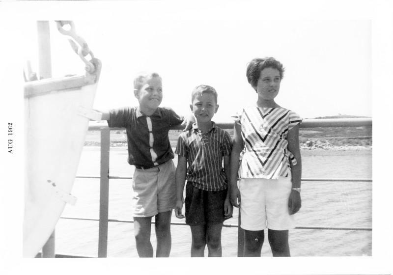 Block Island Ferry 1962