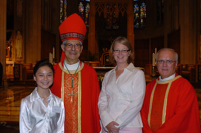 Bishop Tonnos and Father House with Carolyn and Aunt Sarah