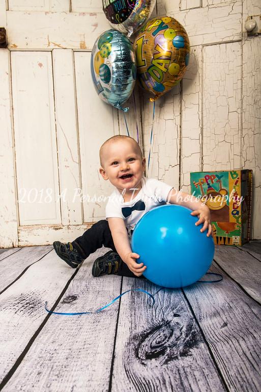 Carson's first birthday