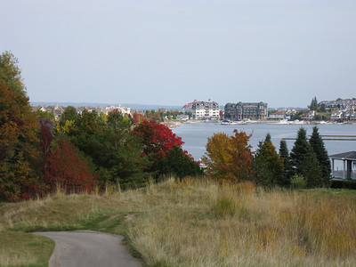 View of Marina and Bay Harbor Village from 'The Links'
