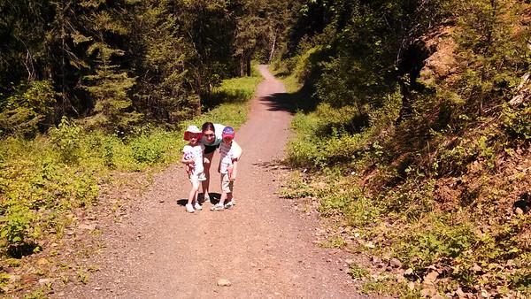 Cascade McCall Family Trip