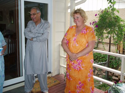 Lori and Asma's dad - Mohamad