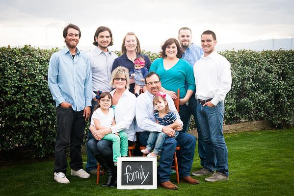 Castillo/McCuan Families