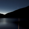 Venus Setting across Lake Lyndon