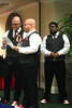 Brothers of the bride, Michael & Patrick reciting Calvin & Hobbs definition of love.  Gustovo listening.