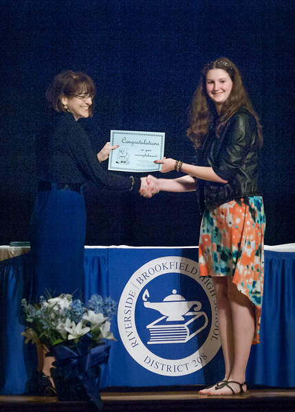Catherine's Senior Awards Ceremony