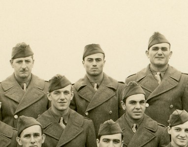 PFC. Louis A. Cavicchia (Center-Back Row)