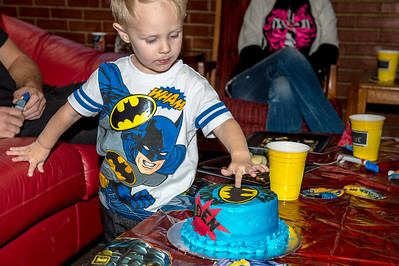 Cayden's 3rd birthday party