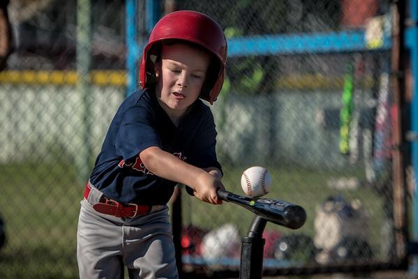 Graham T-Ball Red Sox play final game of 2016 season
