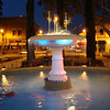 The fountain in Old Towne Plaza
