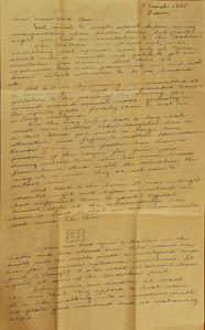 """This letter is 3 pages long. View at a higher resolution (""""X3"""") for easiest reading. Here Opa tells the Chateau story."""