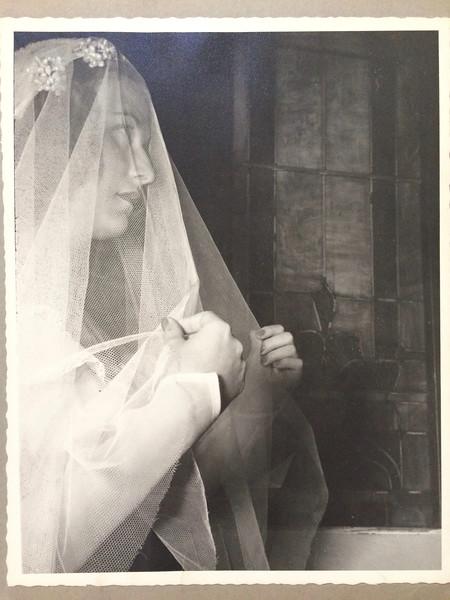 Marilynn the bride. July 3, 1946