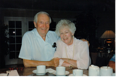 Mom and Dad at home.  70 years together.  They worked at life as partners and best friends and it paid off. Smiles for each other through to the end and beyond  One of Mom's favorite songs.  Click the link to listen   Patsy Cline's True Love