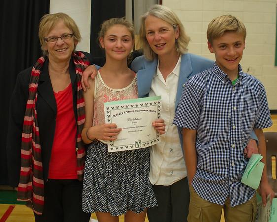 Celebration of Excellence Vanier School 2014