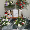 Una and Davis's 60th Anniversary cards, flowers, balloon and telegram from the Queen!