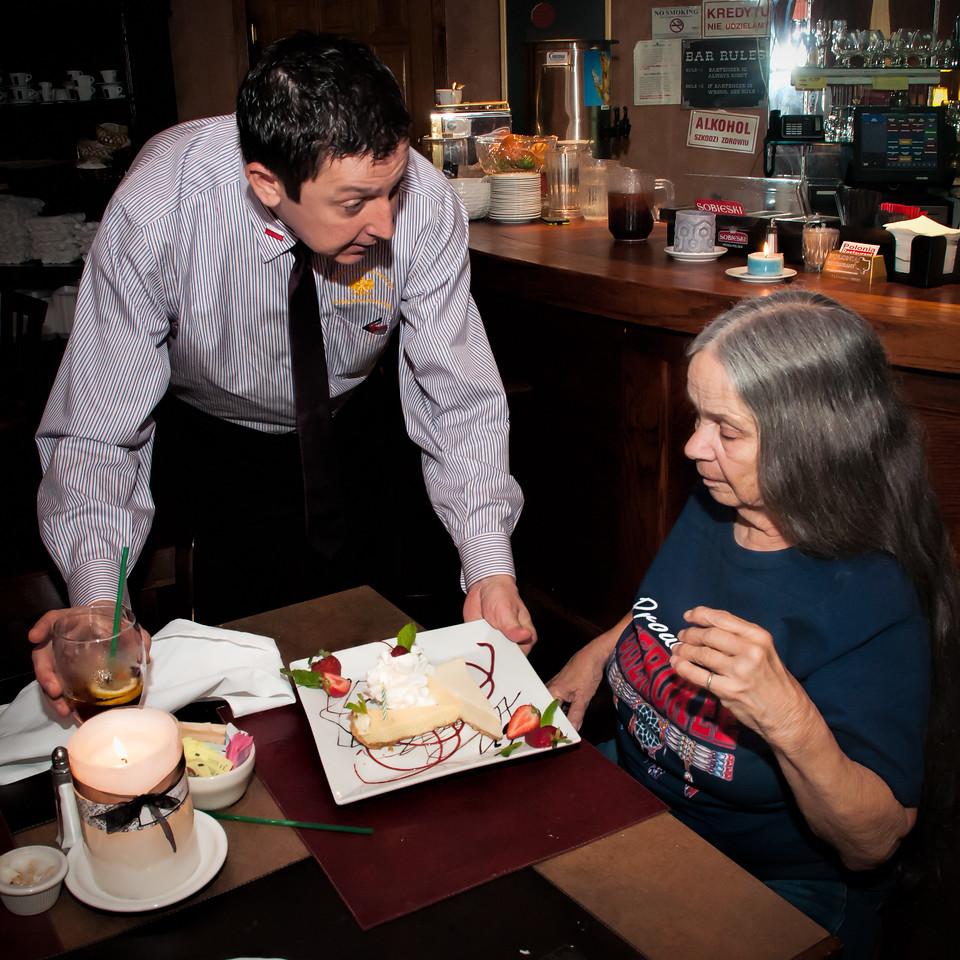 Cherry's 74th Birthday Lunch