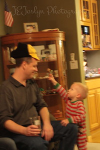 NewYearEves at Matt's  12-31-2012 - Dad with GS-2
