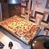 Warm and yummy pretzels.