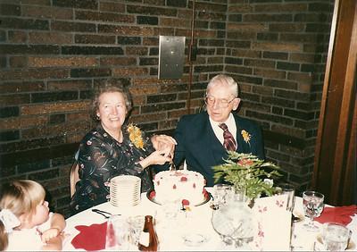 Mom & Dad Cerne 50th Anniversary 2/88