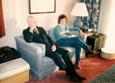 Dad Cerne & Jan at Cerne 50th Anniversary 2/88