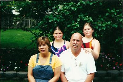 Bob Cerne family 7/00