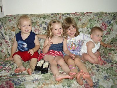Brennan Grandchildren - summer 2000