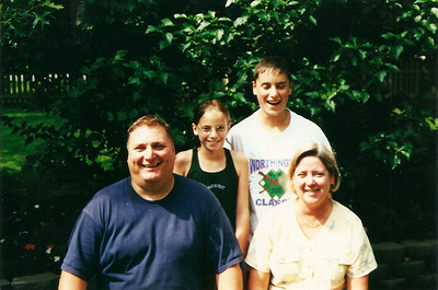 John Thompson family 7/2000