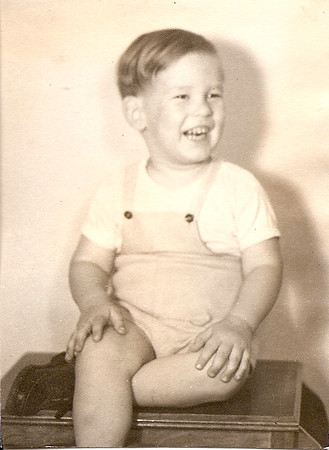 Ed, Jr., probably 1947