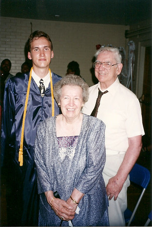 Edward III with Grandparents at his High School Graduation  6/95