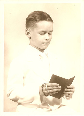 Edward Paul Cerne, Jr. First Communion 1952
