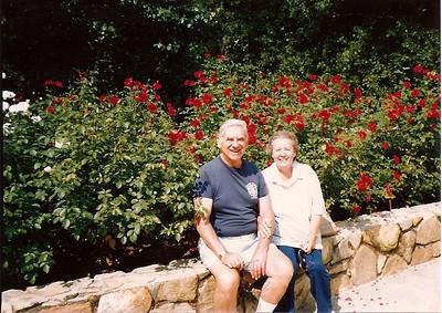 Mom & Dad Cerne - Duke Gardens - 9/89