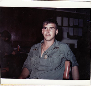 Bob Cerne in Army - 1970?