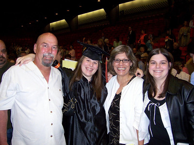 Amanda's high school graduation