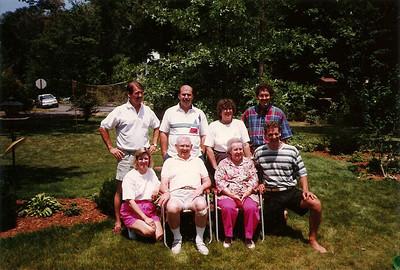 Mom & Dad Cerne with their children     7/91